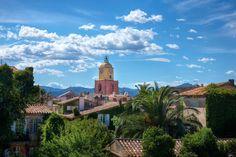 Architectural photography  | St Tropez townscape