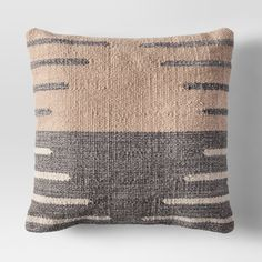 Simple, effortless style comes easy when you're decorating with this Tan and Gray Two-Tone Throw Pillow from Project 62™. To bring a warm and inviting feel into your home, display this pillow on your couch, accent chair, entryway bench or bed. Stylish on its own, it's easy to mix and match it with other accent pillows to create a look that's unique to you.<br><br>1962 was a big year. Modernist design hit its peak and moved into homes across the country. And in...