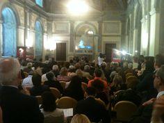 Questa mattina alle 12, presentazione di Spoleto55 al Ministero per i Beni e le Attività Culturali. La sala dell'ex Consiglio Nazionale gremita