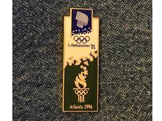Centennial Olympic Park Pin Badge ~1996~Atlanta~Brick by Imprinted Products
