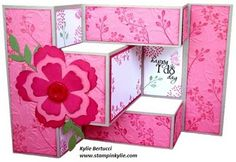 Stampin Up! Wedding Card - Fun Flowers