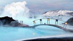 Extreme Northern Lights: Head straight to the Blue Lagoon, where you can relax after your flight. Iceland