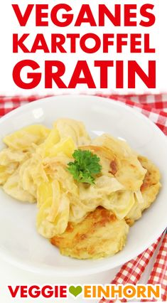 ᐅ creamy vegan potato gratin ᐅᐅᐅ simple and super delicious! ᐅ – Famous Last Words My Recipes, Vegan Recipes, Recipies, Tahini, Tofu, Meal Prep, Ramen, Pineapple, Food And Drink