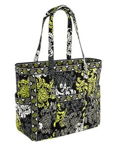 NWT Vera Bradley Get Carried Away Tote in Baroque (#11024069) Retail: $92 HUGE & Lots of pockets! Bidding starts at $45. http://www.ebay.com/itm/251721044949?ssPageName=STRK:MESELX:IT&_trksid=p3984.m1555.l2649