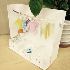 Creating a Wardrobe with Paper Dolls Sketchbook Book Projects, Projects For Kids, Diy For Kids, Crafts For Kids, Creative Crafts, Diy And Crafts, Arts And Crafts, Paper Crafts, Video X