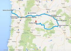 4. The Terrifying Northern Oregon Road Trip