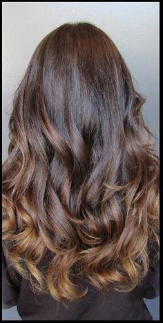 mocha brunette highlights