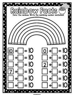 st patricks day math worksheet | ST PATRICK'S DAY KINDERGARTEN MATH ACTIVITIES PACK (PRINT AND GO ...