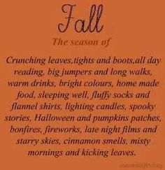 Fall, so excited for this fall and winter but more excited because next year I will be able to enjoy it soooo much more...