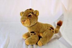 "Vintage Disney Store 8"" Plush The Lion King Baby Simba Lion Cub 1994 Stuffed #Disney Baby Simba, Lion King Baby, Lion King Simba, Disney Stuffed Animals, Dinosaur Stuffed Animal, Disney Discounts, Lion Cub, Plush Animals, Vintage Disney"