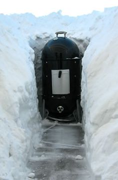 Cold Weather Grilling & Smoking