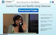 Flutter: Gesture recognition's via Webcam