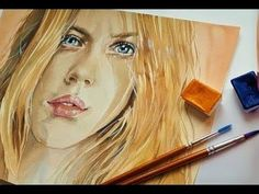 How to mix SKIN FLESH tones with Acrylic or oil Paint, step by step,The perfect recipe, must see! Art Watercolor, Watercolor Brushes, Watercolor Illustration, Acrylic Portrait Painting, Acrylic Painting Tutorials, Oil Painting Lessons, Painting Videos, Simple Oil Painting, Painting People