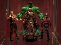 Thor, Hulk, Iron Man, Captain America