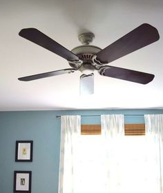 13 Ways to Upgrade Your Boring Ceiling Fan on a Budget | Hometalk