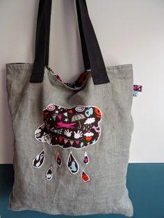 erna näht: Things I Love - Wendy, Stofftasche, Stoffbeutel, bag, marketbag, tote, nähen, sew, no plastic, Plastik vermeiden,