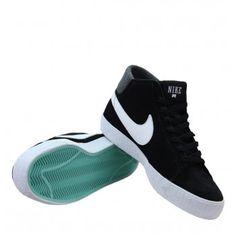 Nike Blazer Mid LR 510965-013 Mens Trainers SS13 Black/White/Tropical Twist