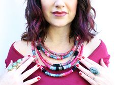 alisaburke- yarn statement necklace