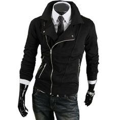 Herren Slim Fit Jacke mit Reissverschluss Hot Hoodie Sweatshirt Pullover Fashion Season, http://www.amazon.de/dp/B00HQ9RN58/ref=cm_sw_r_pi_dp_nlYatb0MYT0MX