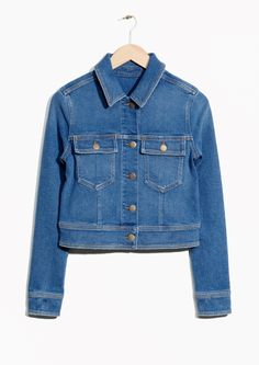 & Other Stories image 1 of Denim Jacket in Blue