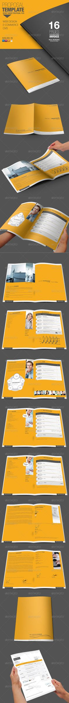 Business Proposal Proposals, Stationery and Business - it proposal template