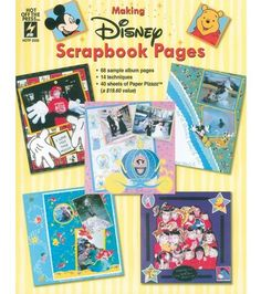 Hot Off The Press Making Disney Scrapbook Pages