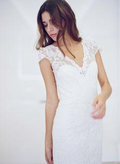 #vera-wang, #vintage, #lace, #love, #maternity, #girls, #whimsical, #beauty, #sequins, #summer, #white, #elegant, #dress, #elegance  Photography: Greg Finck Photography - gregfinck.com Wedding Dresses: Carolina Herrera, Fall 2016 - www.carolinaherrera.com/newyork/en/bridal/spring-2016/collection