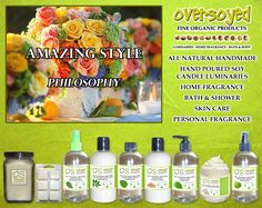 Amazing Style (Compare To Philosophy®) Product Collection - A unique blend of citrus, florals and spice, this fragrance is the essence of style. Under a veil of white musk, pink rose blends with sweet citrus and cinnamon stick. #OverSoyed #AmazingStyle #Philosophy #Candles #HomeFragrance #BathandBody #Beauty