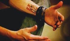 Ryan and his tattoo <3