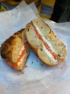 Ess-a-Bagel is one of Nate's favorite breakfast spots in the City. I tried it once before going gluten-free and sure wish I could partake again!