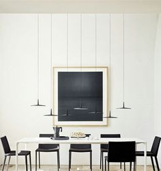 Pendant lamp SKAN By Vibia design Lievore Altherr Molina Italian Furniture, Country Furniture, Living Furniture, Contemporary Pendant Lights, Modern Pendant Light, Barn Lighting, Lighting Design, Minimalist Dining Room, Muebles Living