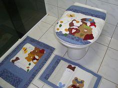 Jogo de banheiro gatinhos | por Art...com retalho