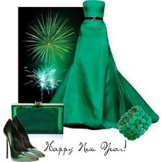 Happy New Year!, created by moodycat on Polyvore