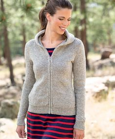 Ravelry: Moses Hoodie pattern by Amy Christoffers