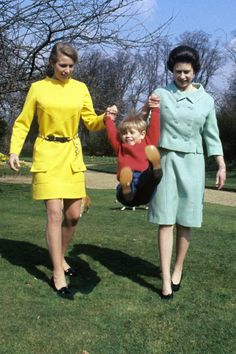 1968 Princess Anne and four year old Prince Edward