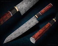 Vlastní - Greg Cimms nože