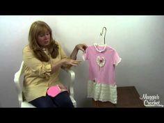 Rose T Shirt Dress and Purse PA800 - YouTube