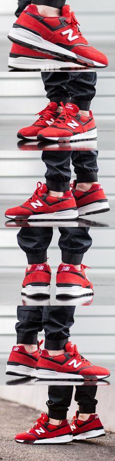 #New #Balance ML 597 #Red