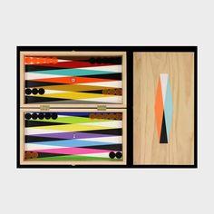 Great board-- Backgammon Board by Ara Peterson