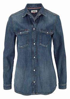 Hilfiger Denim Jeansbluse, in klassischer Form