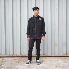 . #daily_orestore | Angga Farmansyah __  SHIRT: @CHEAPMONDAY PANTS: @CHEAPMONDAY SHOES: @VANS JACKET: @PMPDENIM __ Shop now! ORE STORE Untung Suropati 83 Surabaya Mon - Sat ; 11AM - 10PM +6231 5682074 // L: @orestore #ore_store