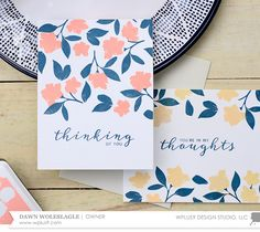 Hello!  Today I have a very simple yet elegant idea for a set of cards that are perfect to have on hand for any occasion.     Believe it or ...