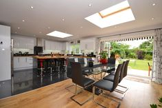House Under Offer in The Old Fire Station Cobham Open Plan Kitchen Dining, Open Plan Living, Character Home, 3 Bedroom House, Contemporary Interior, Living Spaces, Old Things, Table, Furniture
