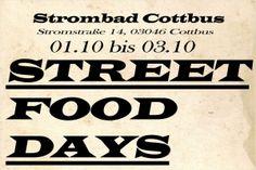 Street Food Days - Strombad Cottbus - lauter.de