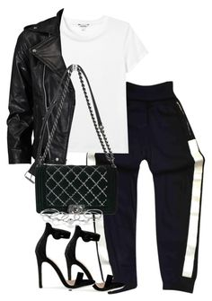 """""""Untitled #3288"""" by theeuropeancloset ❤ liked on Polyvore featuring Chanel, Monki, VIPARO and MANIAMANIA"""