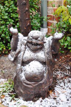 Buddha loves Snow!