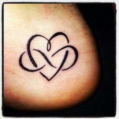 Heart and infinity sign