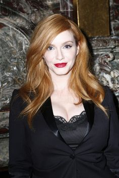 Christina Hendricks attends the Marchesa Spring 2016 fashion show during New York Fashion Week at St. Regis Hotel on September 16, 2015 in New York City
