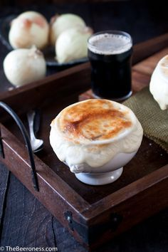 Stout French Onion Soup from The Beeroness @Jackie Dodd