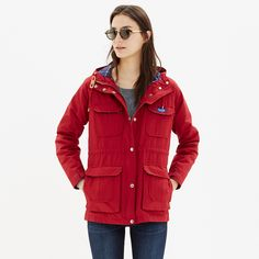 Penfield® Kasson Parka - jackets - Women's JACKETS & OUTERWEAR - Madewell